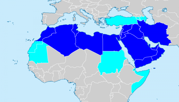 MENA-Map